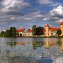 Wonderful Rheinsberg castle Germany