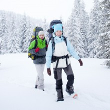 Winter hiking in Frauenwald - discovered with HiVino