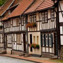 Half-timbered houses in Bad Orb – discover Germany with HiVino