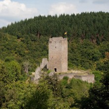 Castle Oberburg in Manderscheid - discovered with HiVino