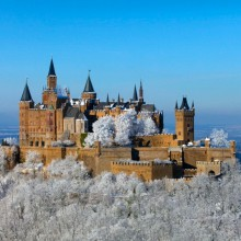 Winter in Burg Hohenzollern - HiVino