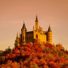 Beautiful view of Burg Hohenzollern