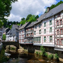 Monschau, Eifel – discover Germany with HiVino