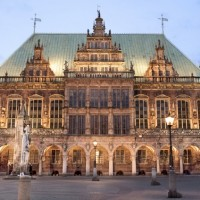 Wonderful UNESCO sight town hall in Bremen discovered with HiVino