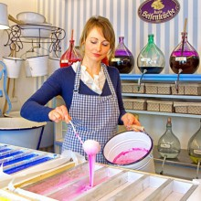 soap kitchen in Karls Erlebnishof - enjoy with HiVino