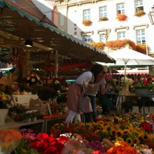 Durlach market place in Karlsruhe - discovered with HiVino