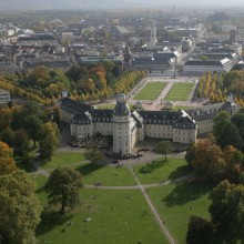Karlsruhe Palace from above – HiVino