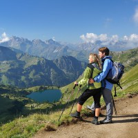 View on the Seealpsee – discover Oberstdorf with HiVino