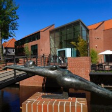 "wonderful ""Kunsthalle"" art gallery in Emden, Germany"