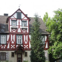 Beautiful half timbered house in Bad Berleburg, Germany