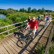 Bike tours along the Hase river - HiVino