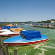 Boats on Zwischenahner lake, Germany - HiVino