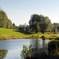 Beautiful park in Spiegelau, Germany discovered with HiVino