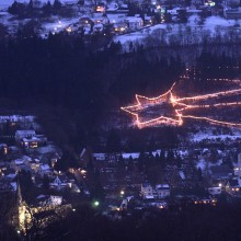 The magic of Christmas with the star of Bethlehem in Waldbreitbach - HiVino