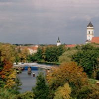 Picturesque view over Fürstenwalde, Germany (c) Herbstlich Fotoatelier Arnhard
