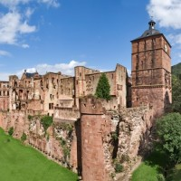 Ruins of Heidelberg castle discovered with HiVino