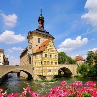 Beautiful town hall Bamberg discovered with HiVino