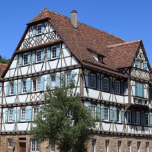 Half-timbered house in Maulbronn – discovered with HiVino