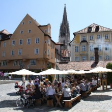 historical Wurstkuchl in Regensburg discovered with HiVino
