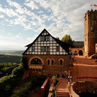 Beautiful Wartburg castle in Germany discovered with HiVino