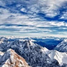 Zugspitze - the highest mountain in Germany - discovered with HiVino